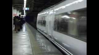 ありがとう!特急スーパーひたち651系 北千住駅通過!