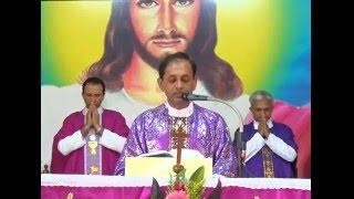 Holy Eucharist Celebrated by Fr. Abraham  DSouza SVD  on 13-02-2016 at Divine Call Centre,Mulki