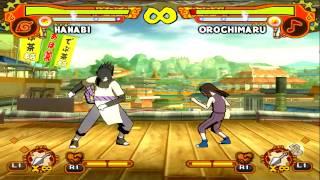 Naruto Shippuden Ultimate Ninja 5 GamePlay#57 PT-BR Hanabi Hyuuga Vs Orochimaru PS2【Full HD 60 FPS】