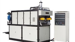 MX660 Thermoforming Machine Producing PP flower pot