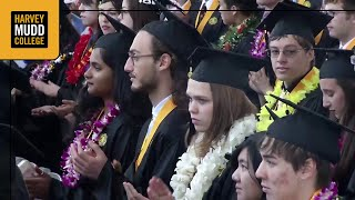 Harvey Mudd College's 2017 Commencement Ceremony