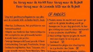 Groeten uit Holland (Sodom en Gomorra!!)