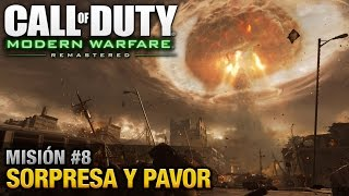 Call of Duty: Modern Warfare Remastered - Misión #8 - Sorpresa y Pavor (Español / Sin Comentario)