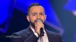 ذا فويس - عصام سرحان - موال آمان يا زمان - مرحلة العروض المباشرة - احلي صوت The Voice