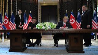 The historic Trump-Kim summit, as it happened