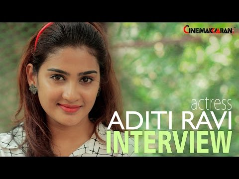 Actress Aditi Ravi | Chat With Cinemakkaaran | Interview