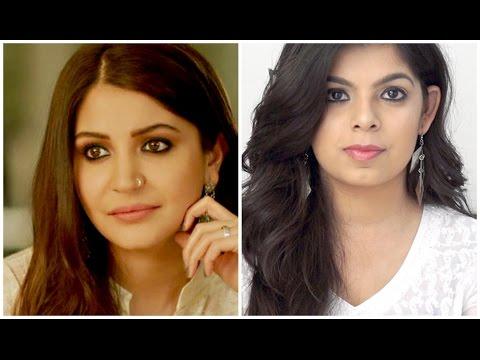 Anushka Sharma Inspired Makeup   Ae Dil hai Mushkil   Bold Eyes   Nude lips   Makeup Tutorial