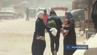 شاب خليجي مجهول يفاجئ فتاة سورية تبيع ملابس