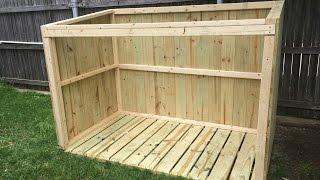Building a Garbage Can Enclosure - Part 1