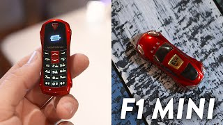 Smallest Mobile Phone In The World?! (F1 Mini)