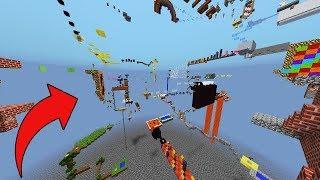 (GERÇEK) DÜNYANIN EN UZUN PARKUR HARİTASI - Minecraft