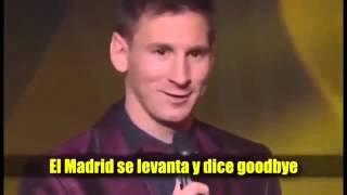 Parodia del Barcelona al Real Madrid.