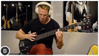 RYAN MARTINIE - BASS SOLO // Warwick Bass Camp // BassTheWorld.com