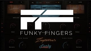 OFFICIAL ZAYTOVEN PLUGIN | FUNKY FINGERS | DEMONSTRATION