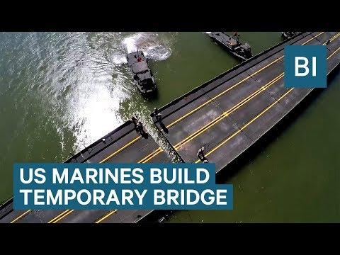 Xxx Mp4 US Marines Built A Temporary Bridge Across The Colorado River 3gp Sex