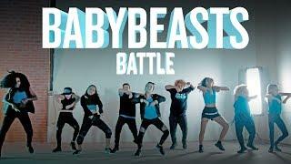BABY BEASTS dance off video vs. teen BEASTS