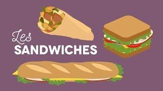 Les sandwiches - Les Carnets de Julie