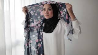 BIDADARI - LADY PETALS Cotton Shawl Tutorial #6