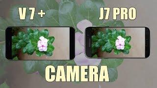 ViVo V7 Plus vs Samsung J7 Pro Camera Comparison!