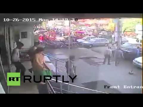 Pakistan: CCTV captures moment deadly earthquake shakes Rawalpindi
