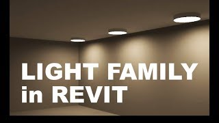 How to make a Functioning Light family in Revit