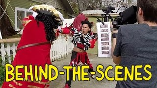 Hook Fight Scene - Homemade Behind the Scenes with the Real RUFIO!
