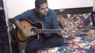 😍Mera MANN(FALAK) on guitar by Dev Arora