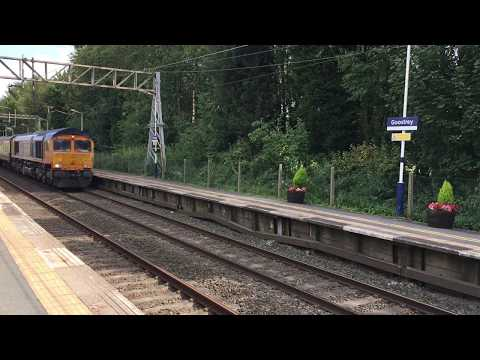 Absent Duff - GBRf 66762 on 1Z07 Newcastle-Basingstoke