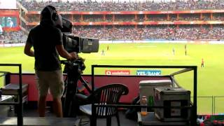 Ipl camera man caught while smoking