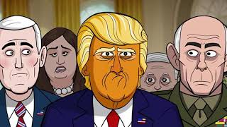 OUR CARTOON PRESIDENT Trump cries because the general won't give him the nuclear football.