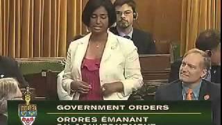 Rathika Sitsabaiesan Canadian MP speaks in TAMIL @ Parliament