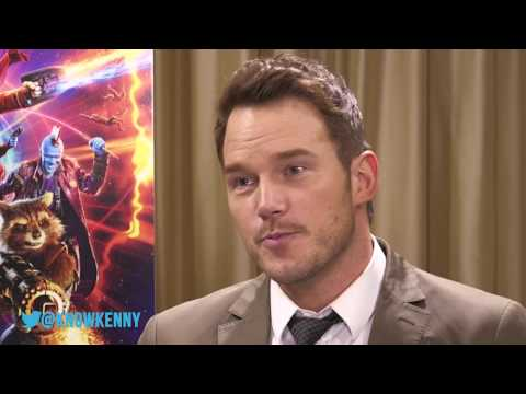 Chris Pratt Does The Butter Chicken Rap | Guardians of the Galaxy Vol.2