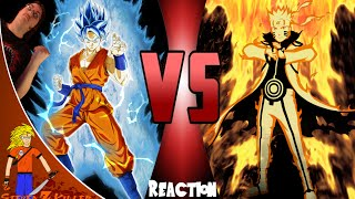 SSGSS Goku Vs Naruto: Cartoon Fight Club Reaction/Review: Steven Z KILLER