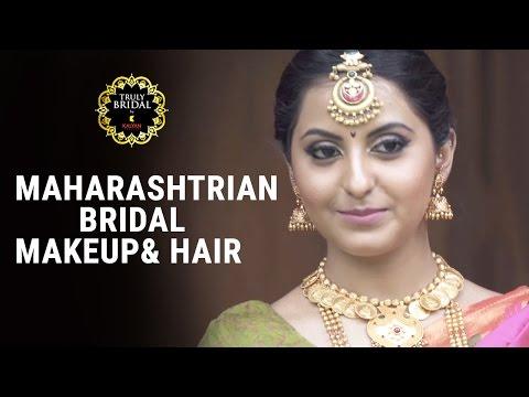 Maharashtrian Bridal Makeup & Hair - By Makeup & Hair Expert Sahibba K Anand