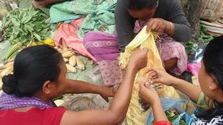 Market in dimapur,Nagaland