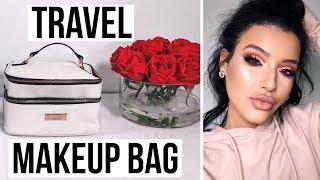 ESSENTIALS EVERY GIRL NEEDS IN HER TRAVEL MAKEUP BAG | Amanda Ensing