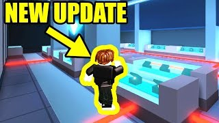 NEW BANK and JEWELRY STORE UPDATE IS HERE!!! | Roblox Jailbreak Live Update