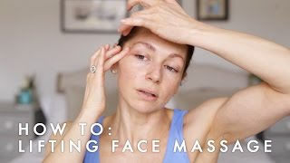 Anti-ageing, Face lifting massage - Abigail James Facialist
