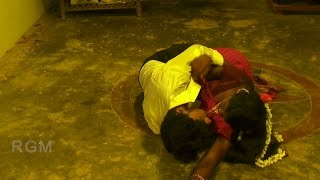 Indian Tamil Aunty First Night Romantic Video Song