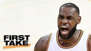 Stephen A.: LeBron Will Destroy Celtics | First Take | May 23, 2017