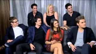 EW: The Vampire Diaries Live Interview (Comic Con 2012)