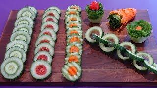 Cucumber Life Hacks - Easy Vegetable Hacks