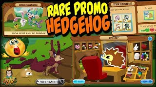 Crazy Rare Pet Hedgehog Offers & Trading WootMoo on Animal Jam
