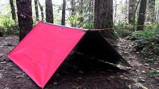 Two Tarp Shelter