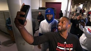LeBron Pays Off World Series Bet with D-Wade |12.02.16