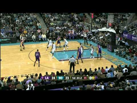 #32 at New Orleans Hornets - Pau Gasol Video Project 2011