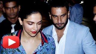 Ranveer Singh Protects Deepika Padukone From Cameras On A Late Night Date