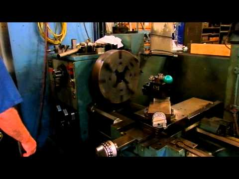 21 X 60 Harrison Model M500 Gap Bed Engine Lathe 1987