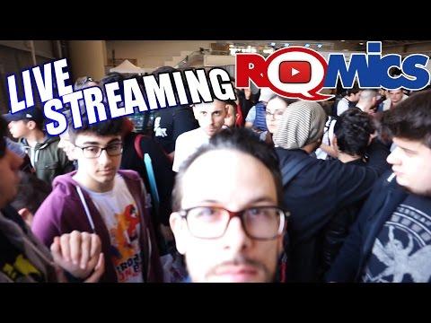 Live Stream domenica al Romics 2017
