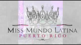 Miss mundo latina Barceloneta traje típico 2016